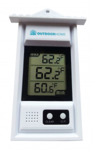 OutdoorHome Min:Max thermometer